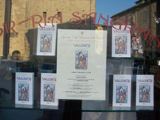 Pienone alla libreria sangraal di anagni per la presentazione del libro valcento gli ordini - Nomi cavalieri tavola rotonda ...