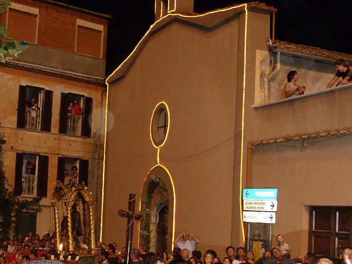 Festa A Santa Maria Villa Comunale Agosto