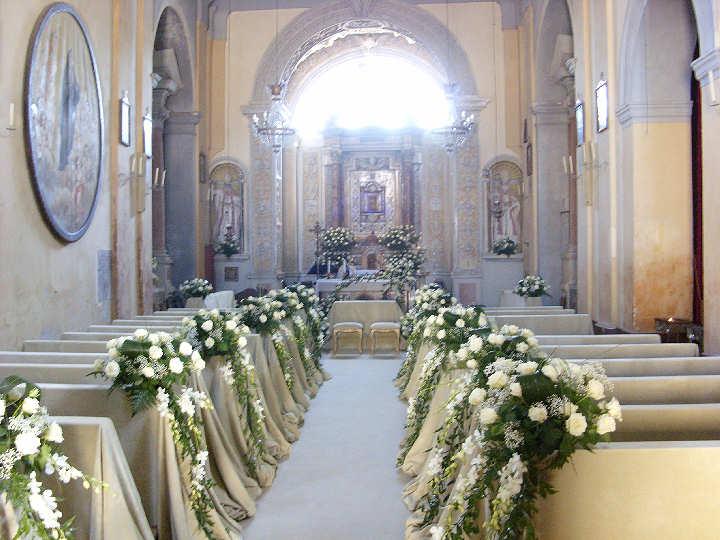 Popolare Chiesa Addobbata Per Matrimonio IN08 » Regardsdefemmes MS33