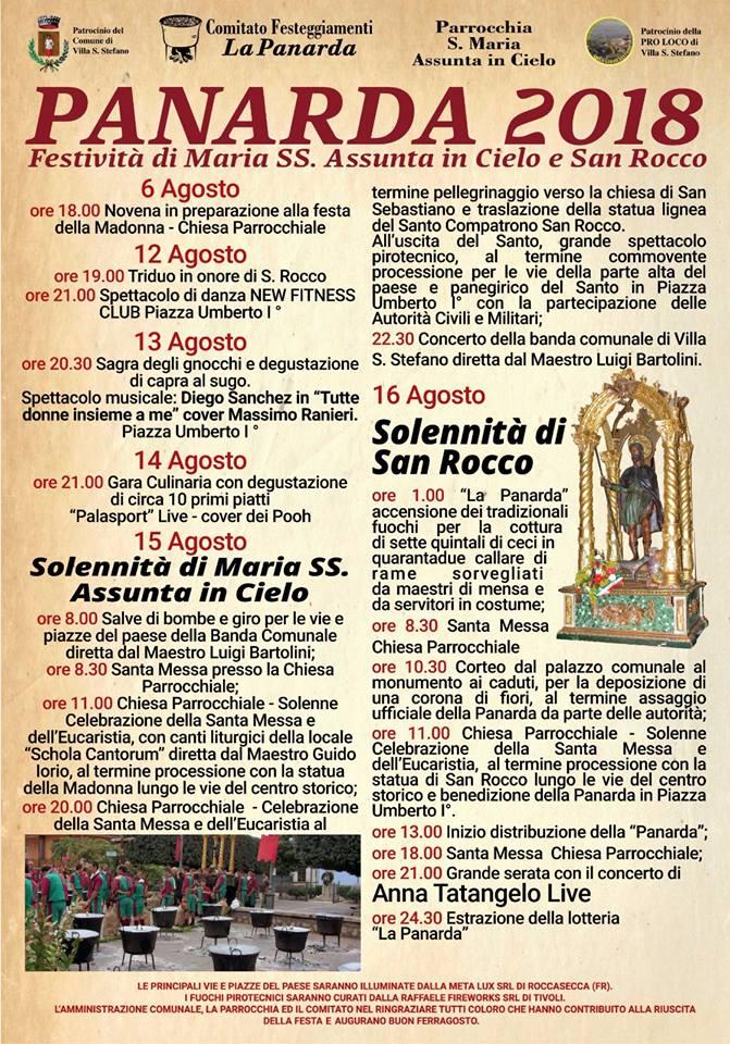 Calendario Religioso.Festivita Di Maria Ss Assunta In Cielo E San Rocco Agosto