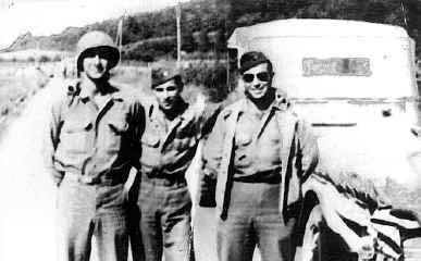"Alfonso Felici: ""The Fighting Paisan"" 3rd Div. veteran (center)"