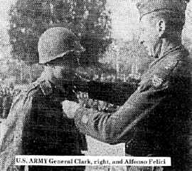 General Clark,(right)  and Alfonso Felici   U.S.ARMY